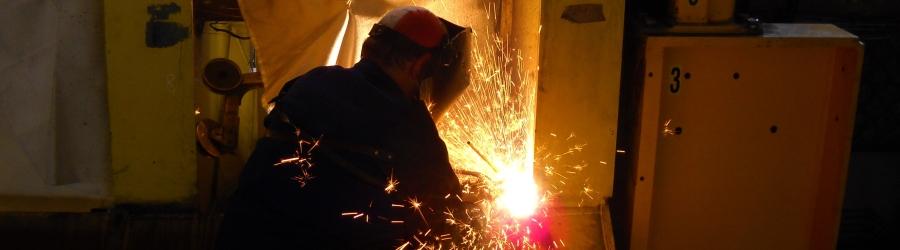 Svářečský dozor - Welding supervision